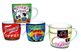 Coffee Mugs Tommy, 4 Stück im Set -