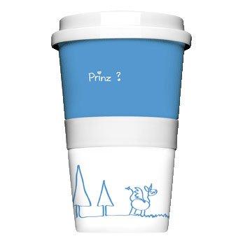 Kaffee to go Becher Porzellan
