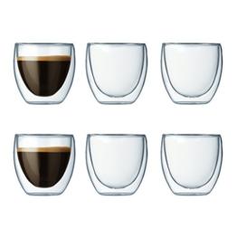 Espressotassen-Glas
