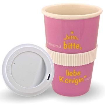 Kaffeebecher to go Porzellan -