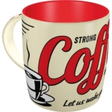 Nostalgic-Art 43022, USA, Strong Coffee Served Here, Tasse -