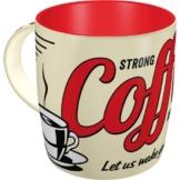 Nostalgic-Art 43022, USA, Strong Coffee Served Here, Tasse -