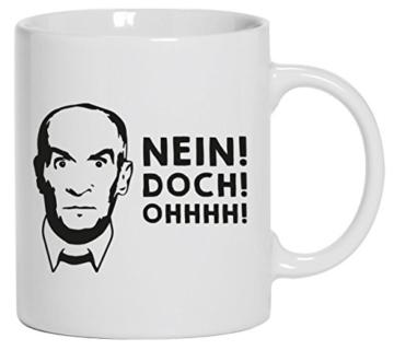 Tasse Louis de Funes nein doch -